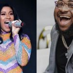 "Cardi B Remixes Davido's ""IF"" Song & Jams To It In A Private To Ghana"