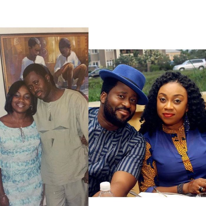 Nollywood Actor, Desmond Elliot And Beautiful Wife Celebrate 16 Years Of Marriage