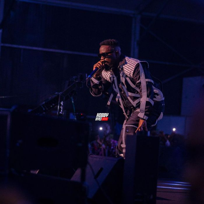 Watch Sarkodie's Entry At 2019 Rapperholic Concert