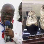 PHOTO Of Legendary Footwear President Akufo Addo Wore Throughout His Campaign For Presidency Hits Online