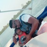 Sarkodie Leaves Heavily Pregnant Tracy At Home & Goes Boat Cruising With Titi At Royal Senchi