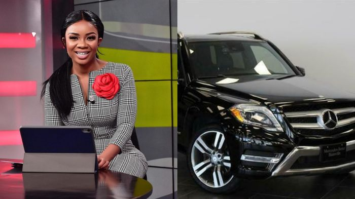 Which Big Man Bought A Brand New Mercedes Benz GLK For Serwaa Amihere On Her 29th Birthday?