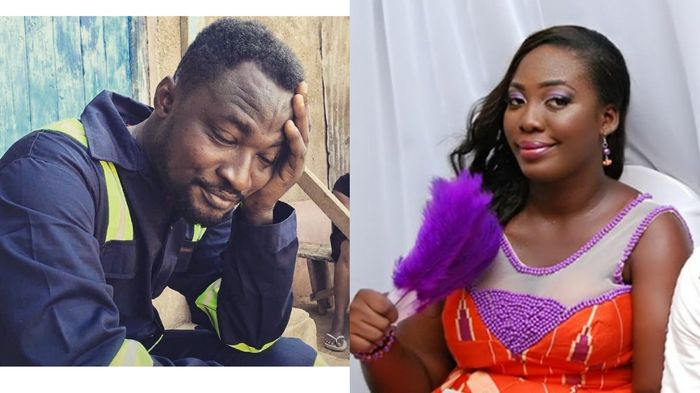 Funny Face's Ex-wife, Nana Adwoa, Snubs Him In Her DM After His Mockery Letter To Her
