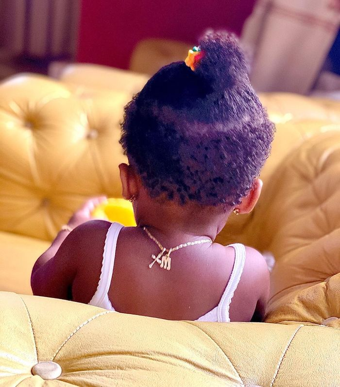 Nana Ama McBrown Teases Her Fans With A Cute Photo Of Her Baby, Maxin