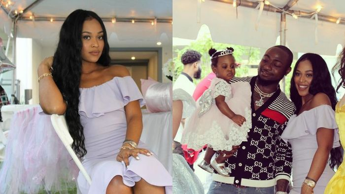 Photos Of Davido's Legally Married Wife, Hermadine & Daughter, Hailey, Hit Online