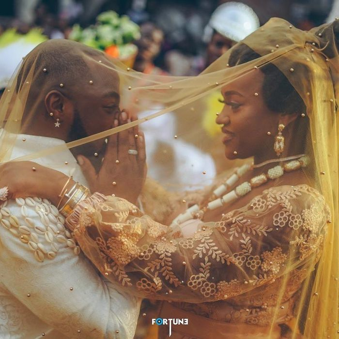 Beautiful Photos From Davido & Chioma's Traditional Marriage Ceremony Go Viral