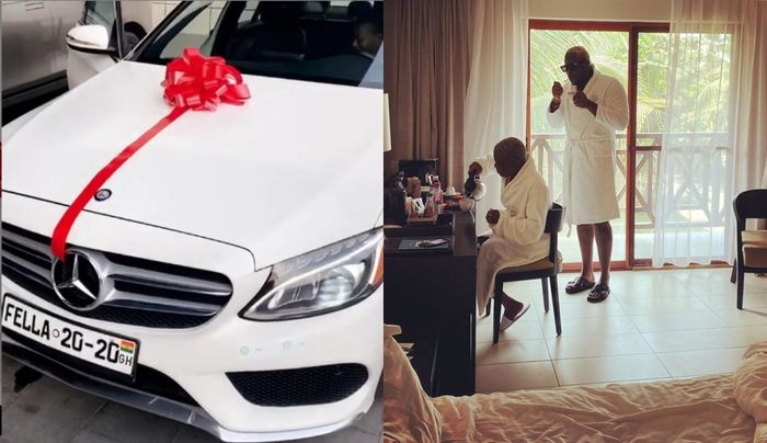 Medikal Buys Brand New Mercedes Benz For Fella Makafui Ahead Of Their White Wedding