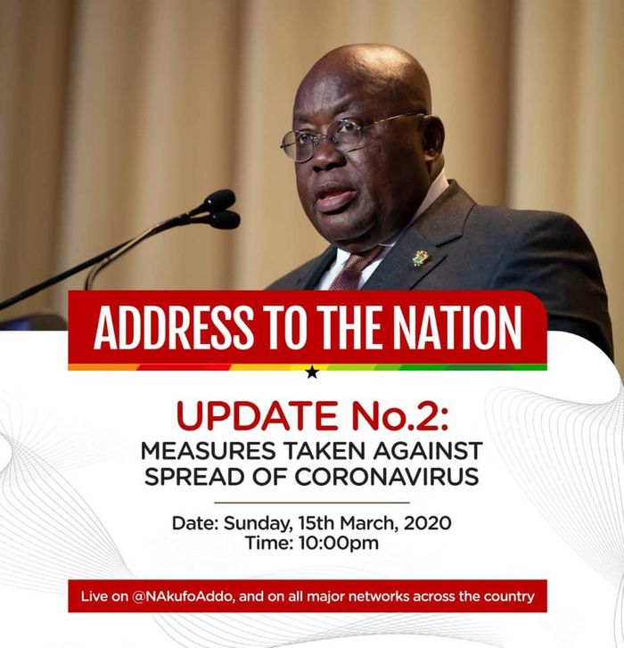 President Akufo Addo To Speak On Viral Reports That He & Osafo Marfo Have Tested Positive For Coronavirus Tonight