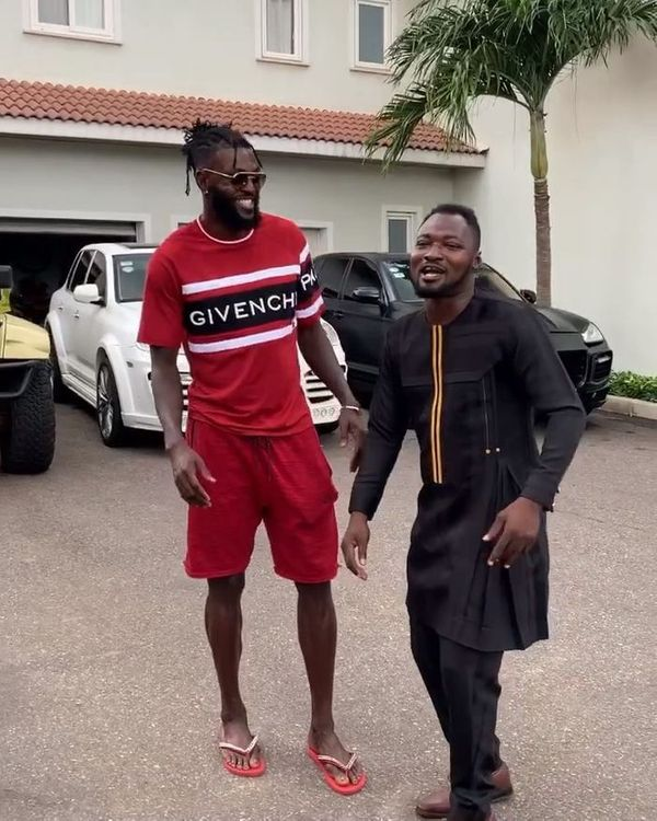 Funny Face Is Going On A Vacation In Togo Fully Sponsored By Emmanuel Adebayor