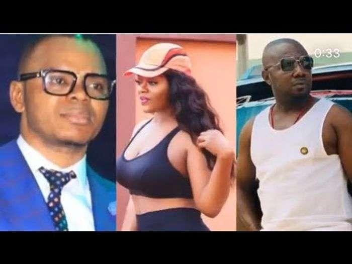 Nana Aba Anamoah's Baby Daddy, Osebo, Rains Generational Curses On Obinim For Sleeping With His Wife