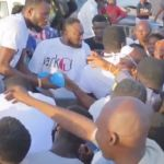 Sarkodie Donates To The People Of Tema After Severe Backlashes & Stingy Tag