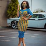 Serwaa Amihere Stuns In An African-print Nosemask With A Matching Outfit - All Thanks To Coronavirus