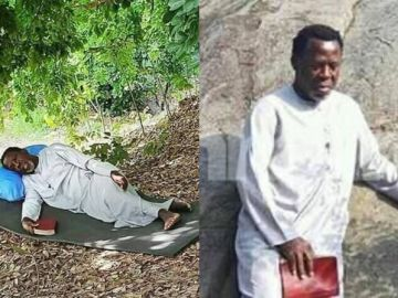 Prophet TB Joshua Has Spent Days On The Mountains Praying And Fasting To Defeat COVID-19