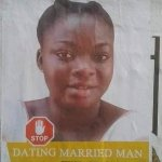 Angry Wife Makes Posters Of Husband's Side chick And Issues A Final Warning To Leave Her Husband