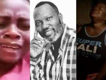 Yaw Dabo, Lil Win And Mercy Asiedu Weep Bitterly Over The Death Of Bishop Bernard Nyarko