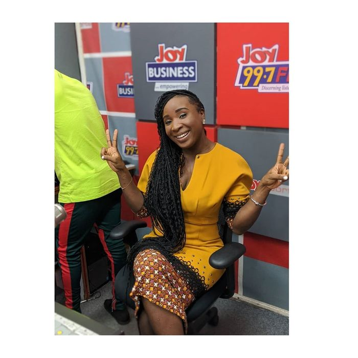 Actress Naa Ashorkor After 2 Years Of Slaving At Joy FM Has Been Fired