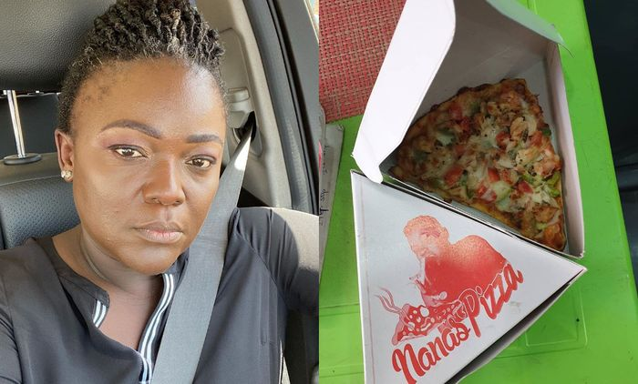 Nana Yaa Brefo Now Sells Pizza After Resigning From Adom TV