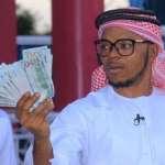 Angel Obinim Flaunts 100 Dollar Bills To Celebrate His Release From Police Custody