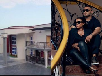 Kwadwo Safo Jnr Puts His Million-dollar Mansion On Display To Celebrate His Wife's 30th Birthday