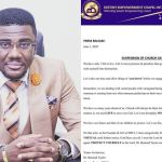 COVID-19: Ghanaian Church Suspends Church Gathering Despite The Lifting Of The Ban On Church Service
