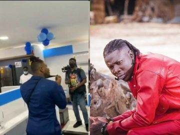 Stonebwoy Refuses To Condemn Attacks On Kelvyn Boy - Hints On Suing Him For Soiling His Brand