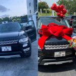 Nana Aba Anamoah Hurriedly Registers Her Range Rover After DVLA's Press Release