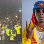 SM Fans Likely To Be Infected With Coronavirus As They Parked Themselves Like Cockroaches On The Premises Of UTV Just To See Shatta Wale