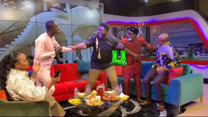 VIDEOS: This Is Not A Joke! Funny Face And Lilwin Fight On Live Television