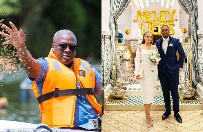 PHOTOS: John Dramani Mahama Breaks Silence On His Son, Shafik's Wedding To Algerian Girlfriend In Dubai