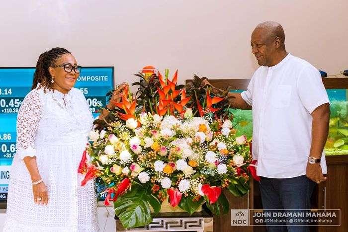 PHOTOS: Former President John Mahama And Wife, Lordina Mahama, Celebrate 28 Years Of Marriage