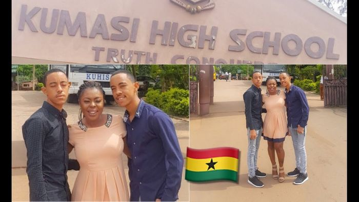 Afia Schwar's Ashaiman-born Twins Dragged Out Of Examination Hall For Breaching Covid-19 Protocols