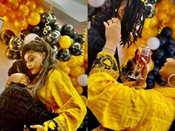 PHOTOS: Nollywood Actress Angela Okorie Is Engaged To An Unknown Man