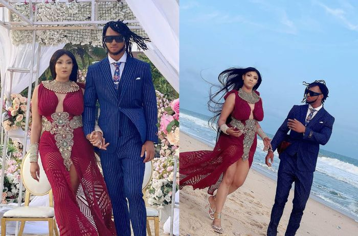 PHOTOS: Nollywood Actress Angela Okorie Ties The Knot With Fiancé