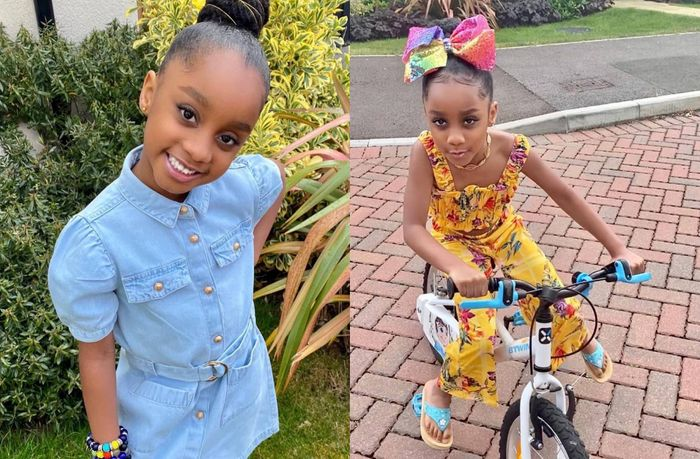 Asamoah Gyan Wishes His Cute Daughter On Her Birthday With Stunning Photos