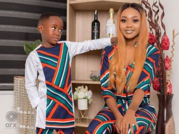 JUST IN: Akuapem Poloo Finally Arrested By The CID Over Viral Birthday Photoshoot With Her 7-year-old Son