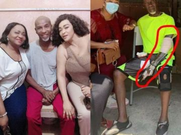 Sad Photos of Severely Sick Veteran Actor, Emmanuel Armah Pops Up On Social Media