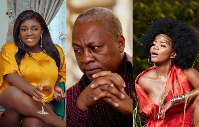 Rachel Appoh Warns Haters To Stop Dragging John Mahama's Name Into Tracey Boakye And Mzbel's Beef