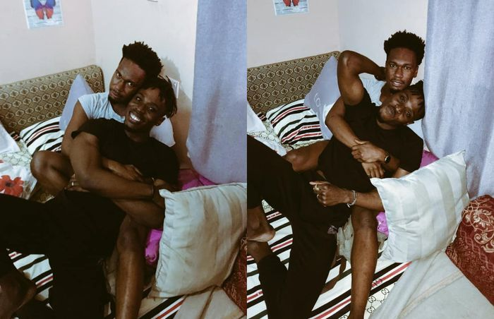 PHOTOS: First Ghanaian Openly Gay Model, Alex Kofi Donkor, Flaunts His Lover On Social Media