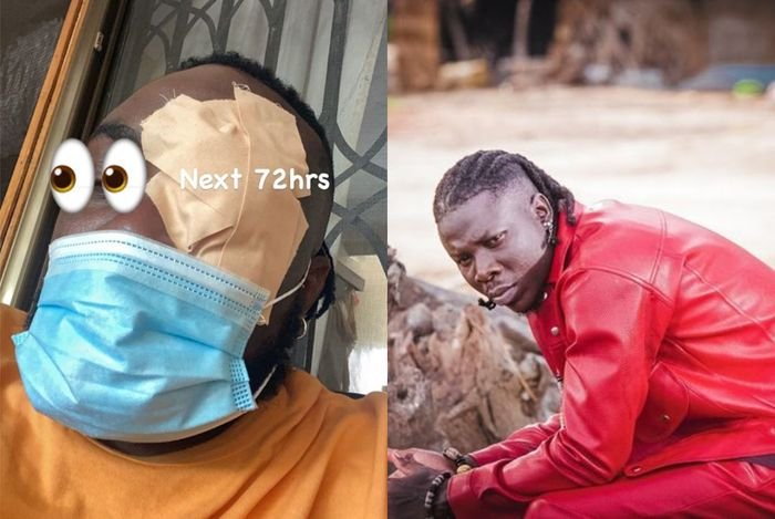 VIDEO: Reports Say Stonebwoy Allegedly Punched Sarkodie's Manager's Eye During A Virtual Concert Rehearsals