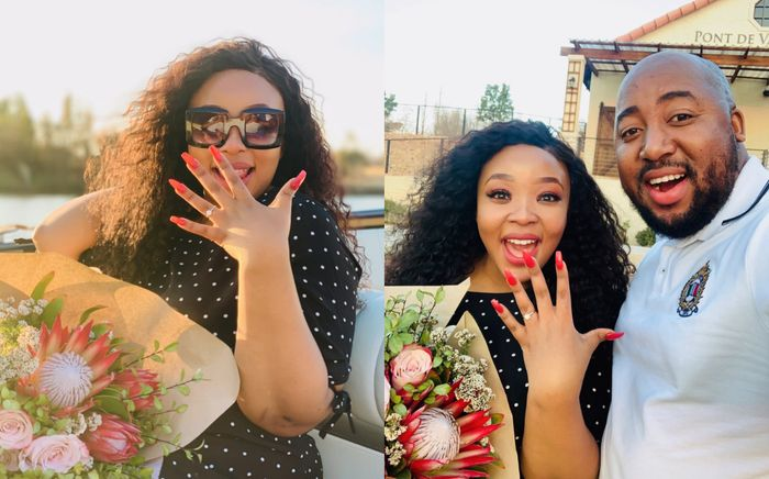 PHOTOS: Man Surprises His Best Female Friend With A Marriage Proposal And She Said YES