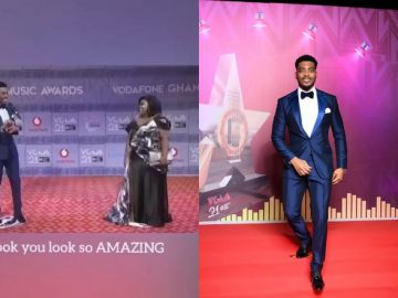 """VIDEO: WTF! 27 Times Actor James Gardiner Used The Word """"Amazing"""" On The 2020 VGMA Red Carpet"""