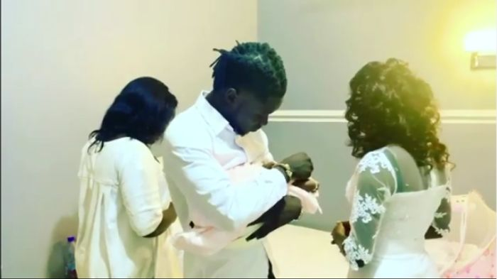 VIDEO: Kuami Eugene And His Girlfriend Have Welcomed An Adorable Baby Girl