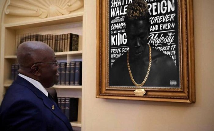 President Akufo Addo Tweets Like A Hypnotised SM Fan To Congratulate Shatta Wale On His Collaboration With Beyoncé