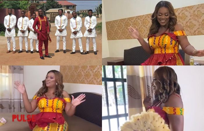 Here Are First Videos And Photos From Joe Mettle And Selasie Dzisa's Traditional Marriage Ceremony