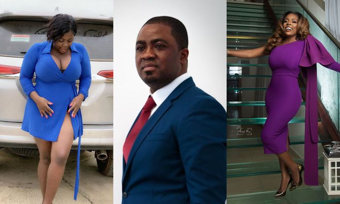 Chris-Vincent Advises Nana Aba Anamoah To Distance Herself From Bush And Illiterate Tracey Boakye