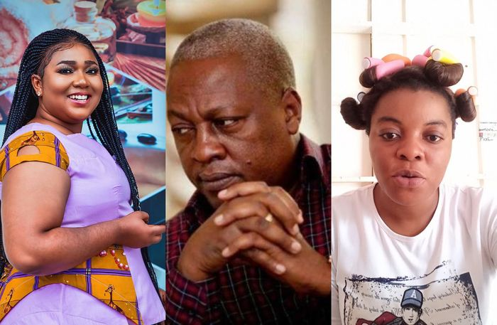 VIDEO: Gloria Kani Alleges That Lordina Mahama Sacked Xandy Kamel From Their House After Realising John Mahama Was Sleeping With Her