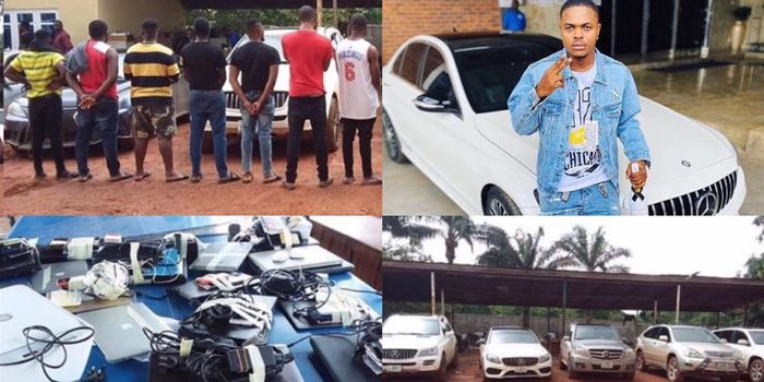 Famous 'Yahoo Boy' And 13 Others Busted Over An Alleged Internet Fraud
