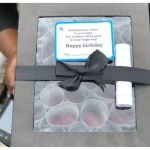 Lady Surprised Her Boyfriend On His Birthday With A Box Full Of Money