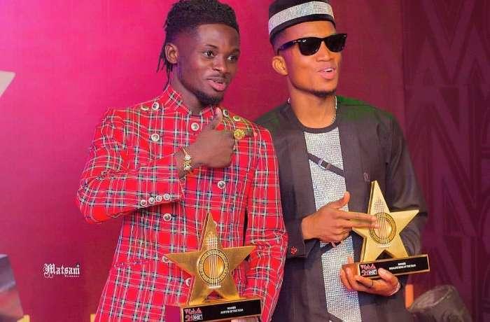 Kofi Kinaata Congratulates Kuami Eugene For Winning #VGMA21 Artiste Of The Year
