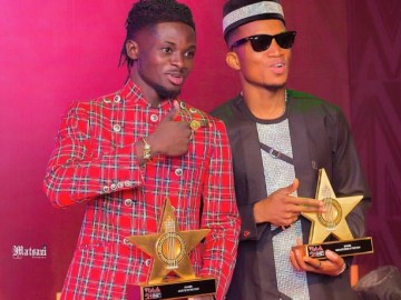 Kofi Kinaata Congratulates Kuami Eugene For Winning #VGMA21 Artiste Of The Year